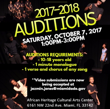 Auditions: African Heritage Youth Theatre