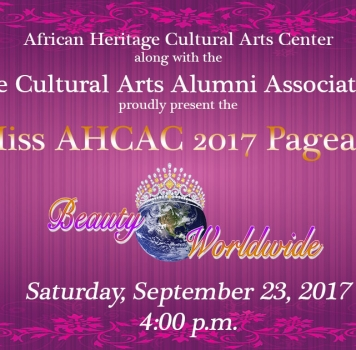 2017 MISS AHCAC Pageant: Beauty Worldwide