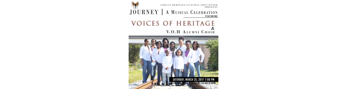 The Voices of Heritage Presents Journey: A Musical Celebration